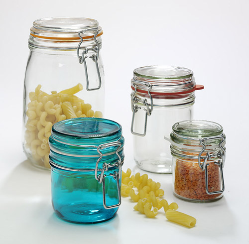 Coloured Storage Jars